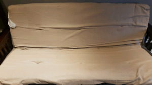 Wood and metal futon BEST OFFER  in Ajax