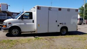 07' Chev Express 3500 w/ Demers Amb Body - Camper or Work Truck!