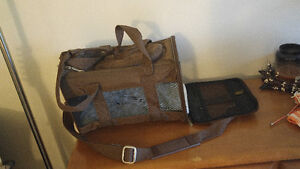 Small Sherpa Brown Fold-able Cat Carrier Kingston Kingston Area image 1