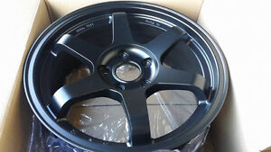 17 inch winter alloy te37 style 17x7.5 5x114.3 + 40 all color