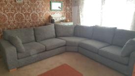 "Next ""Sonoma"" Large Grey Corner Sofa in Excellent Condition"