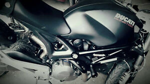 2014 Ducati Monster 696- Woman Riden