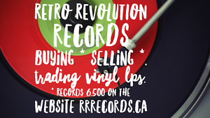 ☆ Retro Revolution Records ☆ Vinyl ☆ LPS ☆ Maritimes Website !