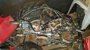 86 honda 250 fourtrax and 2003 honda 500 4x4 part out