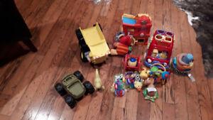 Boys Sleeper,blanket,toys