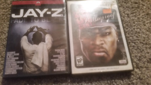 Rap dvds 50 cent and jay z