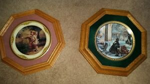 Framed Collectible Plates