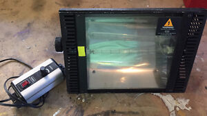 Industrial Pro Theatrical STROBE light. Halloween never the same