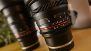 NEW Rokinon 24mm and 50mm T1.5 Cine DS lens for SONY E mount