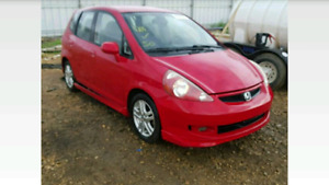 2008 honda fit no damage but (needs a salvage inspection)