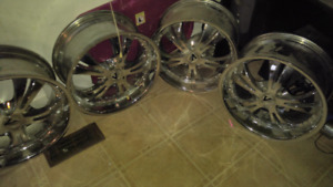 Chrome Aftermarket 18 inch rims