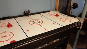 Table de hockey sur air .