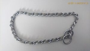 18 inch Adjustable Training Choke Chain Dog Collar