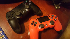 RED PS4 CONTROLLER FOR SALE
