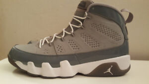 Air Jordan IX 9 Cool Grey Size 12