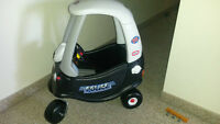 Children table-35$ , bicycle-75$,  police car-40$ ,  small car-