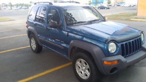 2003 Jeep Liberty Sport SUV, Crossover Need to be sold asap