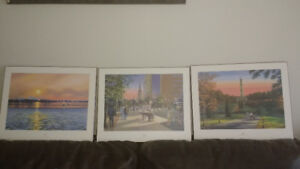 3 Limited Edition prints of Historical spots within HAMILTON ONT