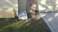 75 Unilock pavers, never used bought to many