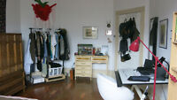 1bdrm SUMMER SUBLET in large, sunny room (French to follow)