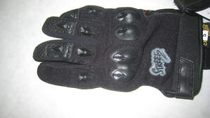 NEW - Hot Weather Leather Gloves - Perforated Goat Skin Leather