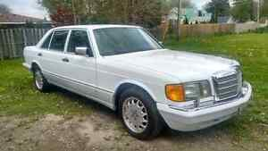 Mercedes  420sel 91. Collector condition