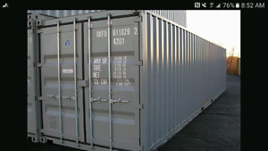 Sea can Storage for rent