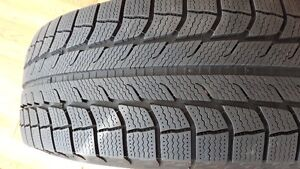 Michelin Latitude X ice winter tires 255/65/R18