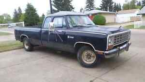 1981 dodge 250 2wd gas