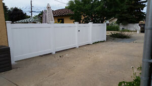 Vinyl Fence from Linear Fence Inc.(Your  Fence Expert Installer)