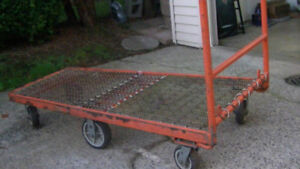 heavy duty push cart