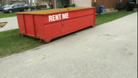 $180 / load bin rental , garbage waste dumpster rental