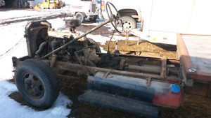 Running early 50's dually frame