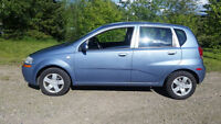 2007 Chevy Aveo with 96,000km