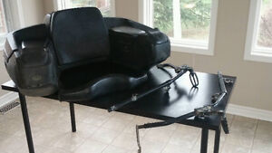 QUADRAX Elite ATV Seat W/ Foot Rests