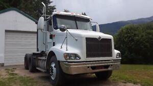 international IHC 9200i day cab truck / package ..REDUCED