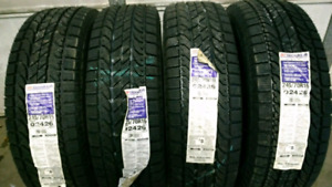 X4 245/70 R16 New BF Goodrich winter  tires. Free Delivery