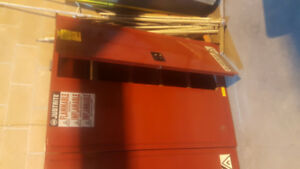 Clean certified flammable cabinets