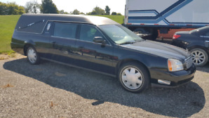 2001 Cadillac Deville Hearse (SOLD PENDING PICKUP)