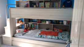 Bibop Wooden Bunk Bed (Euro Single)