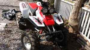 2000 yamaha warrior  rare and 2nd owner like new Peterborough Peterborough Area image 1