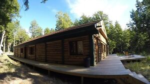 Stunning, 3,500Sqft Lakeside Loghouse for sale. 299,000Cnd