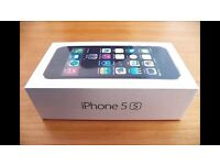 iPhone 5s, 64gb, Brand New Sealed, Black/Space Grey, UNLOCKED to any network.