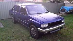 RODEO DUAL CAB COMMODORE V6 CONVERSION & CAMPING TRAILER Bateau Bay Wyong Area Preview