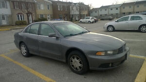 2003 Mitsubishi Galant ES Sedan VERY GOOD FOR NEW DRIVERS