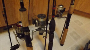 loaded tackle box and 3 fishing rods and reels Edmonton Edmonton Area image 2