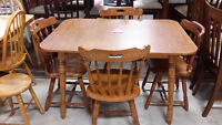 5 pcs table set - Used