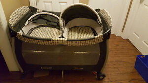 Graco Twin Pack and play