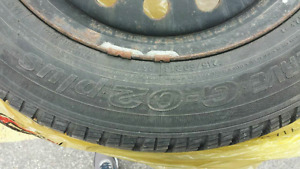 Toyo tires on steelies rims Great condition