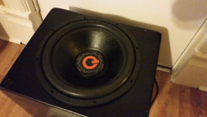 """15"""" COMPETITION SUBWOOFER 4 SALE"""